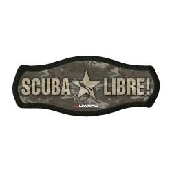 Scuba Libre mask strap cover