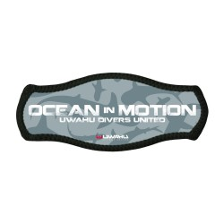 Ocean in Motion mask strap cover