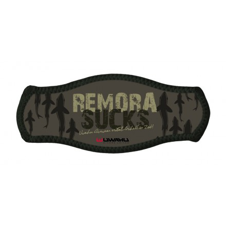 Remora Sucks mask strap cover